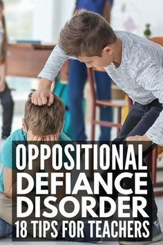 Dealing with Oppositional Defiant Disorder? 18 Tips for Parents and Teachers Dealing with Oppositional Defiant Disorder? 18 Tips for Parents and Teachers,Classroom Ideas Dealing with Oppositional Defiant Disorder Classroom Behavior Management, Student Behavior, Anger Management, Behavior Plans, Behaviour Management Strategies, Classroom Consequences, Special Education Behavior, Adhd Strategies, Class Management