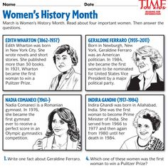 Women's History Month Image | Bulletin Boards | Pinterest ...