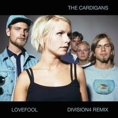 """TIL hit 'Lovefool' by The Cardigans was originally conceived as a slower """"bossa nova"""" more in line with their sound until their drummer decided to play it with a disco beat. American Clothing Stores, Nina Persson, Radio Song, The Cardigans, Movies Coming Out, Billboard Hot 100, Pop Songs, Guitar Tabs, Black Sabbath"""