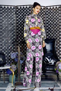 Duro Olowu Spring 2016 Ready-to-Wear Collection Photos - Vogue Runway Fashion, Boho Fashion, Fashion Show, Fashion Design, Fashion Trends, Fashion Walk, Fashion 2016, Fashion Spring, Duro Olowu