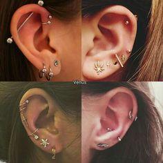 Pince na orelha