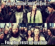 Aragorn finally makes his realizations.