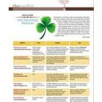 Irish genealogy websites quick guide by Rick Crume