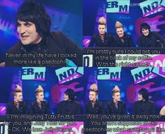 You aren't supposed to tell paedophiles what sweets you like! | Noel Fielding and Jedward | Nevermind the Buzzcocks
