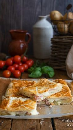 Russian Recipes, Italian Recipes, Kitchen Recipes, Cooking Recipes, Flaky Pastry, Just Bake, Yummy Food, Good Food, Sweet And Salty
