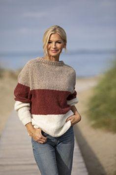 Originale strikkepakker - Gensere, cardigans, jakker, kofter og luer Alpacas, Dan, Men Sweater, Pullover, Knitting, Sweaters, Cardigans, Design, Women