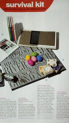 My LUX soaps featured in METRO Magazine's 'Survival Kit'
