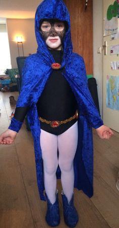 Teen Titans Go! Raven cosplay