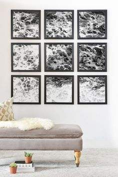 Lisa Argyropoulos Ocean Lullaby Framed Wall Mural | DENY Designs Home Accessories
