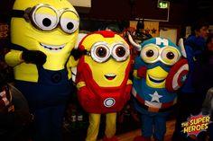 Super minions raising money for charity