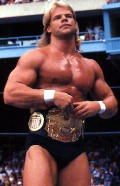 """Total Package"" Lex Luger Weight: 265Ibs"