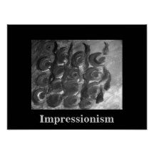 Impressionistic Flowers by Carole Tomlinson Poster