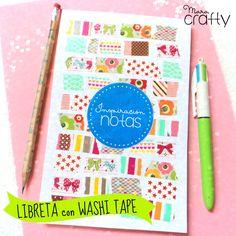 Cómo hacer tu propio washi tape | Aprender manualidades es facilisimo.com