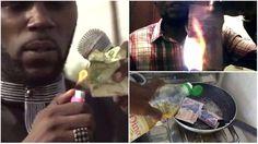 西非民權份子燒法郎 卻被中央銀行報警拘捕?