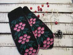 Fair Isle Knitting, Knit Mittens, Gloves, Winter, Winter Time, Winter Fashion, Ravelry