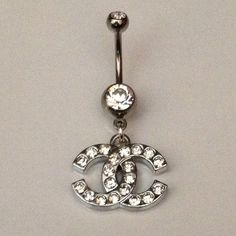 Double C Belly Ring from DixieCreations12 on Etsy. #yesplease. Shop more products from DixieCreations12 on Etsy on Wanelo.