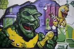 Brazil's World Cup graffiti