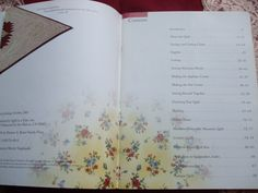 Second Silver - Quilt in a Day Delectable Mountains pattern book Eleanor Burns Signed