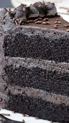 The Most Amazing Chocolate Cake You'll Ever Have