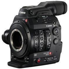 Canon C300 Mark II Cinema EOS Camcorder Body, Dual Pixel CMOS AF, EF Lens Mount