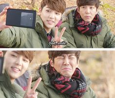 Chan Young's dad is cooler than urs.. hahaha  ♡ #Kdrama // The #HEIRS