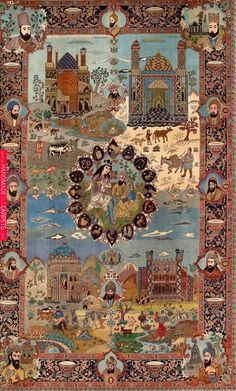 Wonderful Images Persian Carpet art Thoughts Every city in Iran includes a unique handicraft helping to make for an unique souvenir, but scoring Woodland Nursery, Woodland Animals, Persian Carpet, Persian Rug, Painting Carpet, Jugendstil Design, Dark Carpet, Beige Carpet, Tabriz Rug