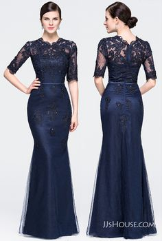Make a statement in this timeless tulle evening dress featuring dramatic neckline detail. Mother Of The Bride Gown, Mother Of Groom Dresses, Mothers Dresses, Girls Formal Dresses, Elegant Dresses, Beautiful Dresses, Evening Dresses Online Shopping, Women's Evening Dresses, African Fashion Dresses