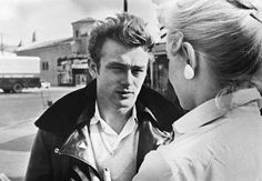 James Dean photographed by Phil Stern.