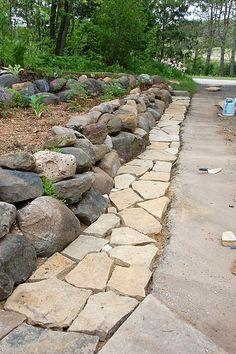 Flagstone Walkway Design Ideas flagstone walkway Using Polymeric Sand With Flagstone