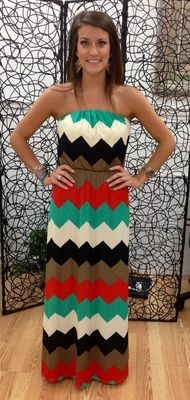 Chevron Maxi. perfect for you @Donna since I know how much you love Chevron! I NEED THIS!!!!!!!
