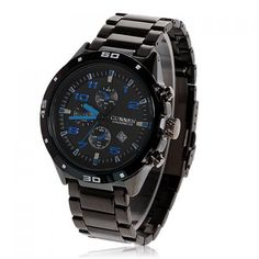Specification: General Brand: CurrenWatches categories: Male tableWatch style: BusinessStyle elements: Big dial Dial Movement type: Quartz watchShape of the dial: CircularDisplay type: PointerCase material: Stainless steel Band Band material: Stainless steel Function Special features: Calendar, Decorating small three stitches Weight and Size Product weight: 0.18 kgPackage weight: 0.23 kgProduct size (L x W x H): 9.8 x 4.5 x 1.2 cmPackage size (L x W x H): 10.8 x 5.5 x 2.2 cm Package…