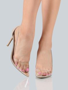 Shop Clear Closed Toe Pumps CLEAR online. SheIn offers Clear Closed Toe Pumps CLEAR & more to fit your fashionable needs.