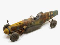 "ARMOURED FIGHTING VEHICLE: ....... Messerschmitt Bf 109 G-6 ""Creeping Death"" ......."