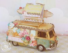 Presenting: The Free Spirit Collection hippie van by Larissa Albernaz! #chawinter2014 #primachaprojects