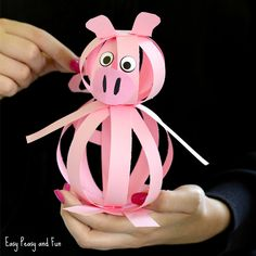 We made another farm animal craft, this time around we are showing you how to make an easy paper pig craft! As with most of our craft ideas for kids, we made sure this one is on the frugal side and you probably have all the materials you need at home already. *this post contains …