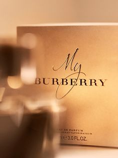 My Burberry is presented in a trench-coloured box, with a gold lined interior embossed with Burberry check