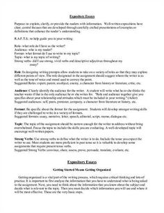 Handout Describes What Thesis Statement How Statements Handbook