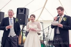 Grooms Speech At The Priory Wareham Wedding Photography By One Thousand Words Photographers
