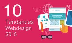 La directrice de January Creative Amber Turner a annoncé la liste de dix tendances en web design en 2015 qui resterons éventuellement à la mode en 2016.