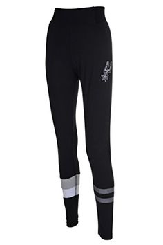NBA San Antonio Spurs Women's Perimeter Soft Sport Active Black Leggings, Large, Black  http://allstarsportsfan.com/product/nba-womens-perimeter-active-sport-spandex-leggings/?attribute_pa_teamname=san-antonio-spurs&attribute_pa_size=large&attribute_pa_color=black  Officially Licensed By The NBA (National Basketball Association) Perfect for running, jogging, sports, yoga, any type of workout or everyday use High quality screen print graphics of team logo and name