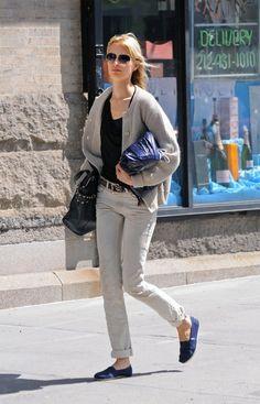 Karolina Kurkova in Diesel Black Gold Jeans - Denimology