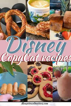 Disney CopyCat recipes to try at Home