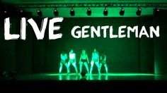 PSY - GENTLEMAN dance cover by Black Shine 싸이