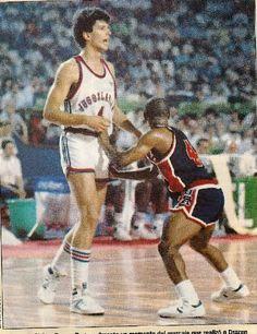Tyrone Bogues Drazen Petrovic #España1986