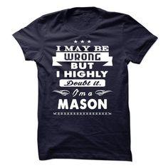 Mason - #gift for men #love gift. WANT IT => https://www.sunfrog.com/Names/Mason-38367773-Guys.html?68278