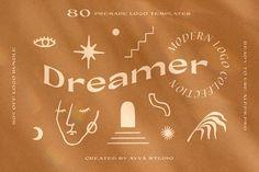 80+ Handcrafted Logo Templates by Ayya Studio on @creativemarket