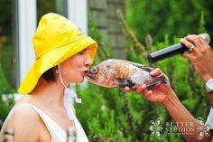 Kiss the fish! Vancouver Wedding Photographer, Event Photographer, Bowen Island, Island Weddings, Kiss, Butter, Wedding Photography, Photoshoot, Studio