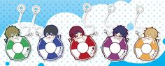 AmiAmi [Character & Hobby Shop] | Toy'sworks Collection Niiten-gomu! - Free! Umbrella Charm 8Pack BOX
