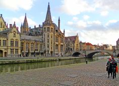 Amazing architecture in the Belgian city of Ghent #Belgium