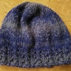 Instant Download  229 Knitting Pattern Hat